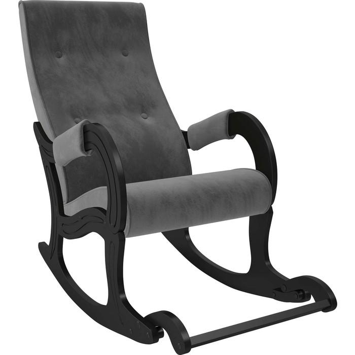 Кресло-качалка Мебель Импэкс Модель 707 венге, ткань Verona antrazite grey