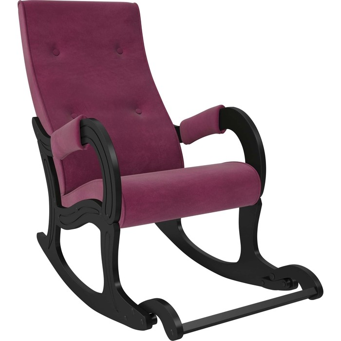 Кресло-качалка Мебель Импэкс Модель 707 венге, ткань Verona cyklam