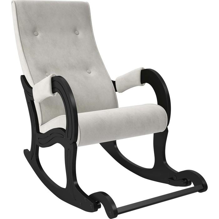 Кресло-качалка Мебель Импэкс Модель 707 венге, ткань Verona light grey