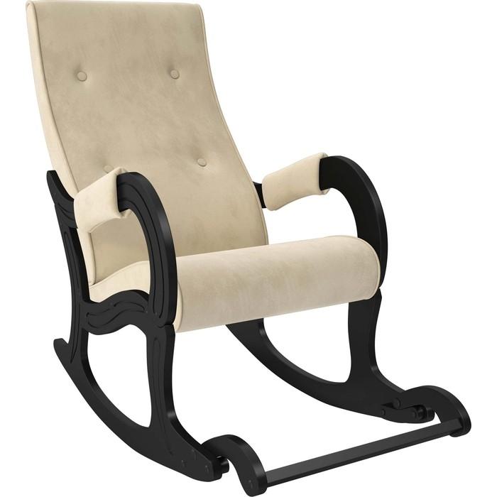Кресло-качалка Мебель Импэкс Модель 707 венге, ткань Verona vanilla кресло глайдер мебель импэкс balance 3 натуральное дерево verona vanilla
