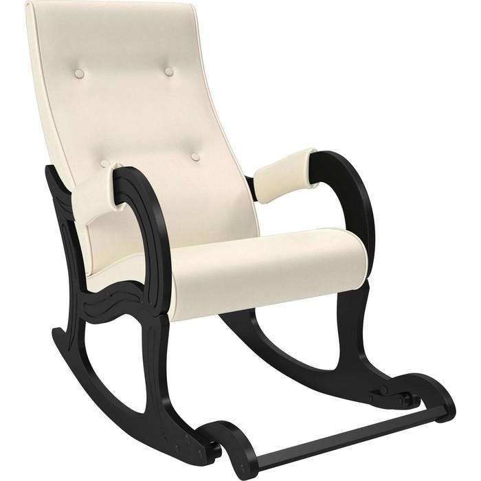 Фото - Кресло-качалка Мебель Импэкс Модель 707 венге, к/з Dundi 112 кресло качалка мебель импэкс модель 707 венге к з vegas lite amber