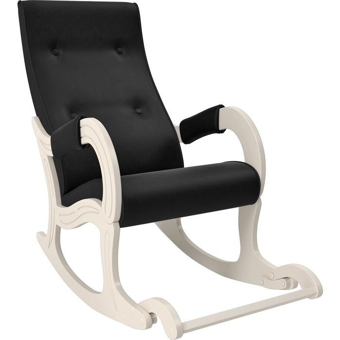 Фото - Кресло-качалка Мебель Импэкс Модель 707 дуб шампань, к/з Vegas lite black кресло качалка мебель импэкс модель 707 венге к з vegas lite amber