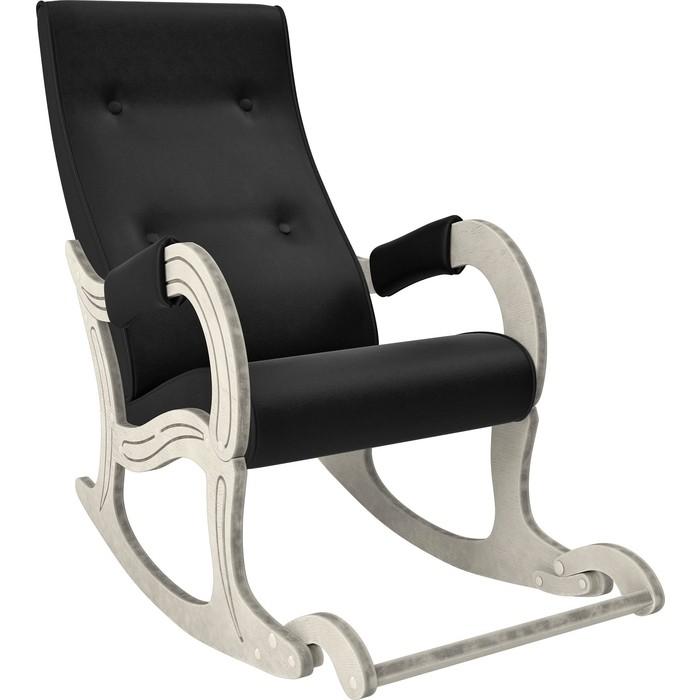 Фото - Кресло-качалка Мебель Импэкс Модель 707 дуб шампань/патина, к/з Vegas lite black кресло качалка мебель импэкс модель 707 венге к з vegas lite amber