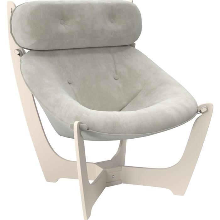 Кресло для отдыха Мебель Импэкс Модель 11 дуб шампань, ткань Verona light grey