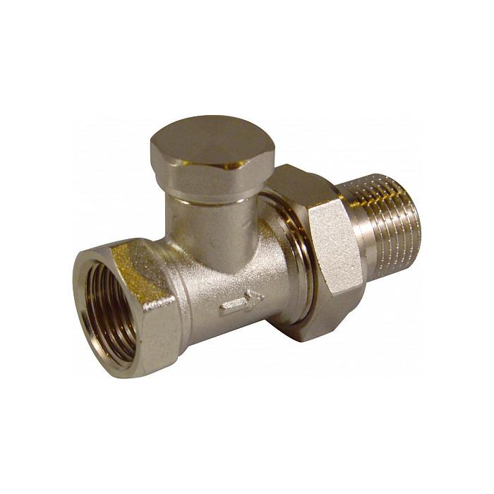 Запорный клапан СТМ Termo для радиатора, прямой 3/4 (CARSVL34)