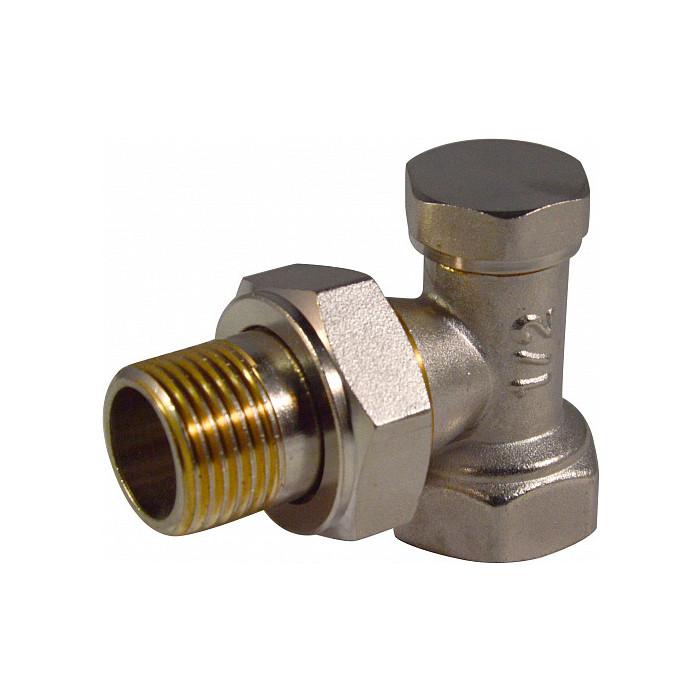 Запорный клапан СТМ Termo для радиатора, угловой 3/4 (CARAVL34)
