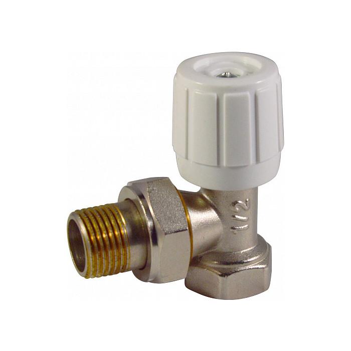 Регулирующий клапан СТМ Termo ручной, угловой 3/4 (CARAVH34)