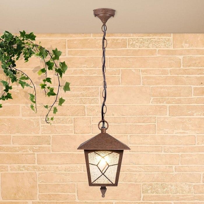 Уличный подвесной cветильник Elektrostandard 4690389134241