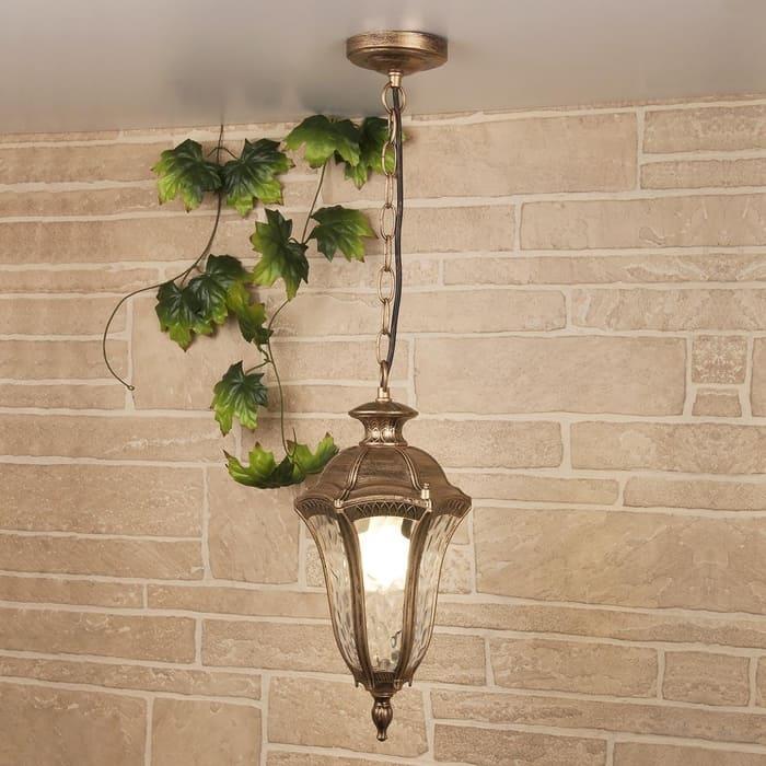 Уличный подвесной cветильник Elektrostandard 4690389134210