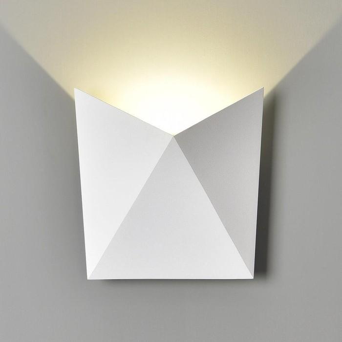 Уличный настенный светодиодный светильник Elektrostandard 4690389108884