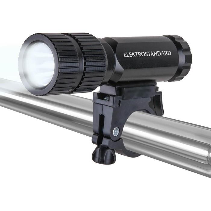 Велосипедный светодиодный фонарь Elektrostandard 4690389128967 фонарь светодиодный solaris f 30v велосипедный с комплектацией