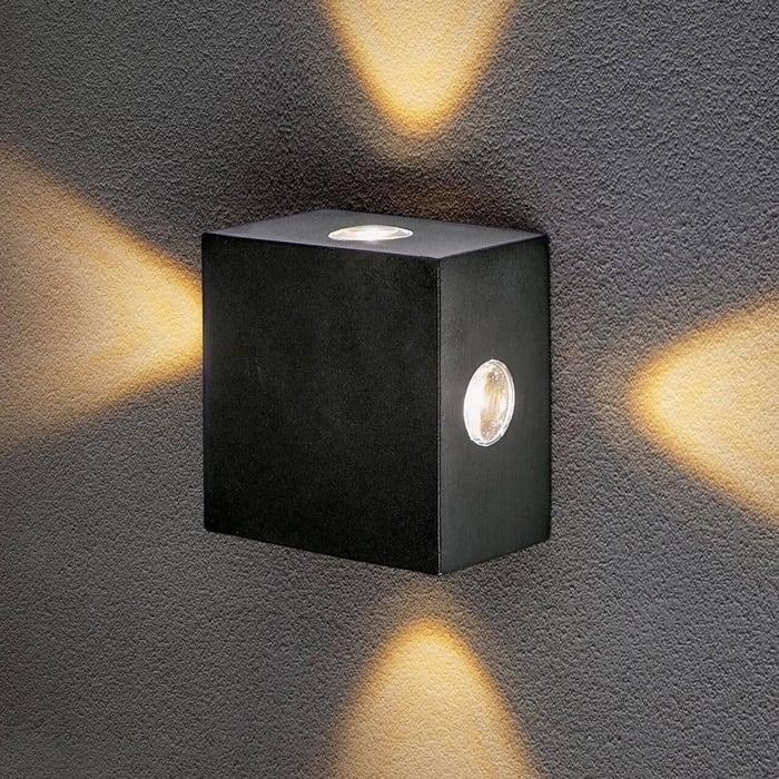 Уличный настенный светодиодный светильник Elektrostandard 4690389116414