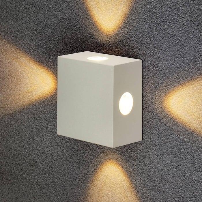 Уличный настенный светодиодный светильник Elektrostandard 4690389116391