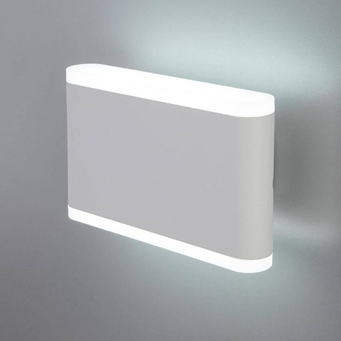 Уличный настенный светодиодный светильник Elektrostandard 4690389128066