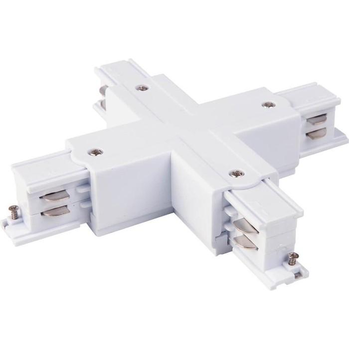 Коннектор X-образный Elektrostandard 4690389112553 коннектор y образный truper с выключателем