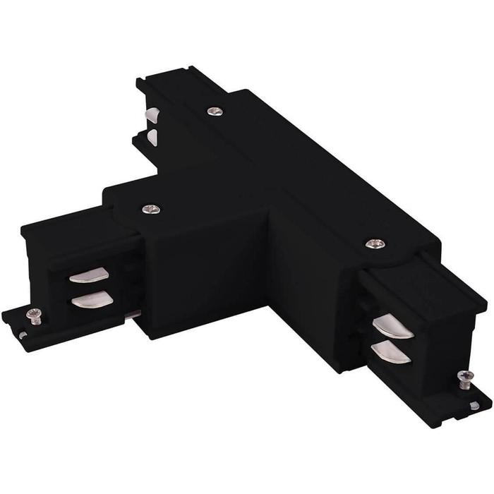 Коннектор Т-образный левый Elektrostandard 4690389112485 коннектор y образный truper с выключателем