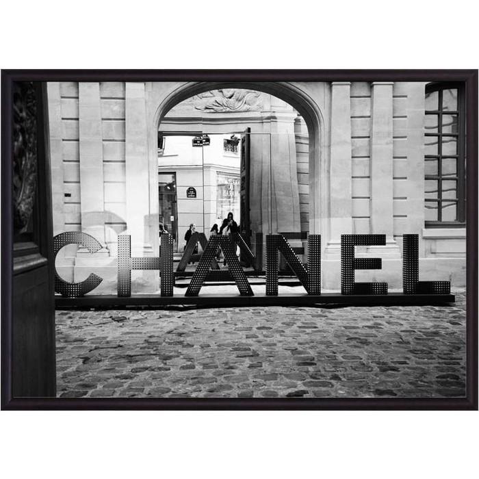 Постер в рамке Дом Корлеоне Chanel 40x60 см