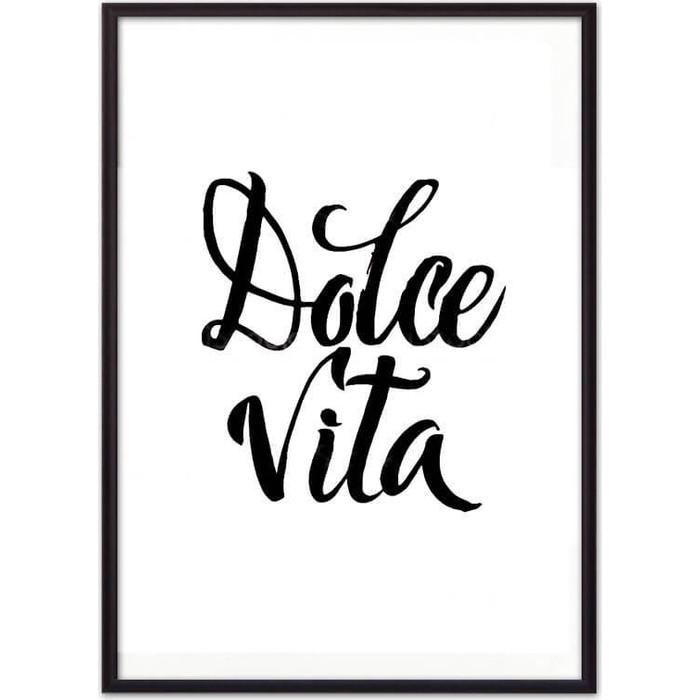 Постер в рамке Дом Корлеоне Dolce vita 40x60 см лоферы dolce vita dolce vita mp002xw0ere9
