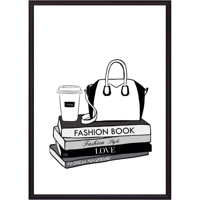 Постер в рамке Дом Корлеоне Fashion book 30x40 см
