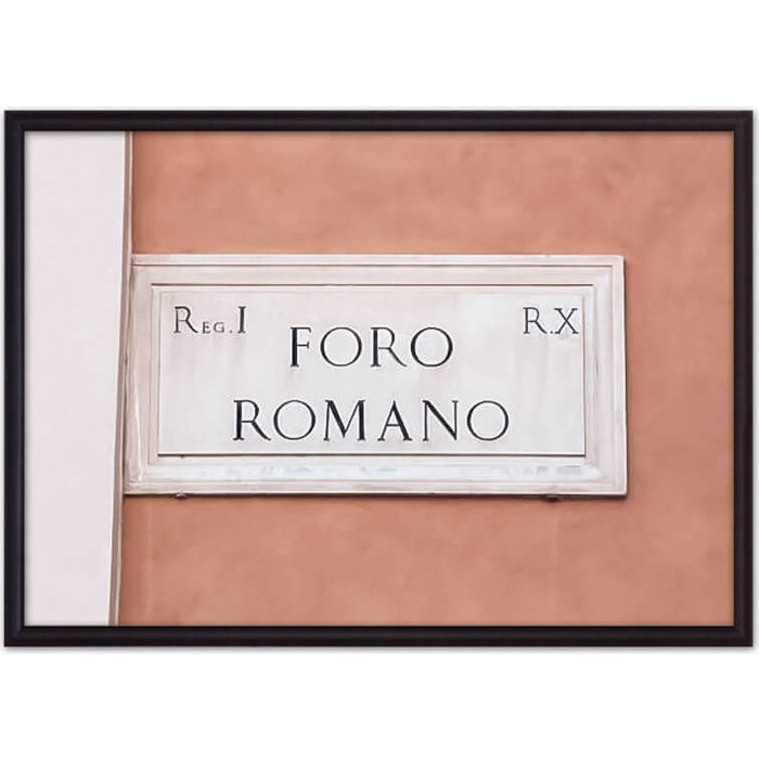 Постер в рамке Дом Корлеоне Foro Romano 50x70 см