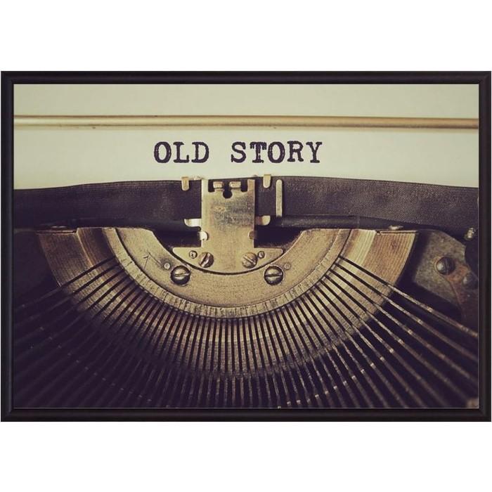 Постер в рамке Дом Корлеоне Old story 30x40 см