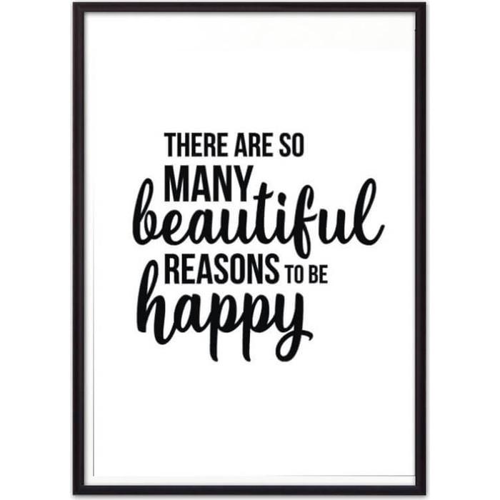 Постер в рамке Дом Корлеоне To be happy 30x40 см