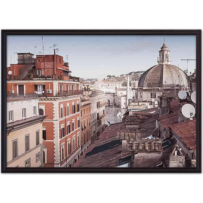 Постер в рамке Дом Корлеоне Via del Corso Рим 40x60 см