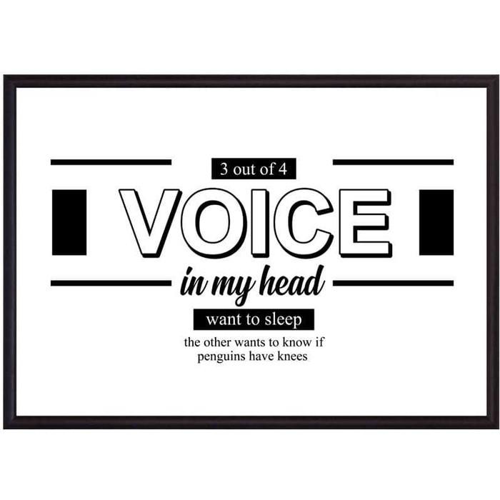 Постер в рамке Дом Корлеоне Voice 21x30 см