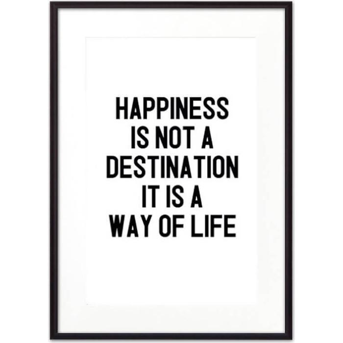 Постер в рамке Дом Корлеоне Way of life 50x70 см