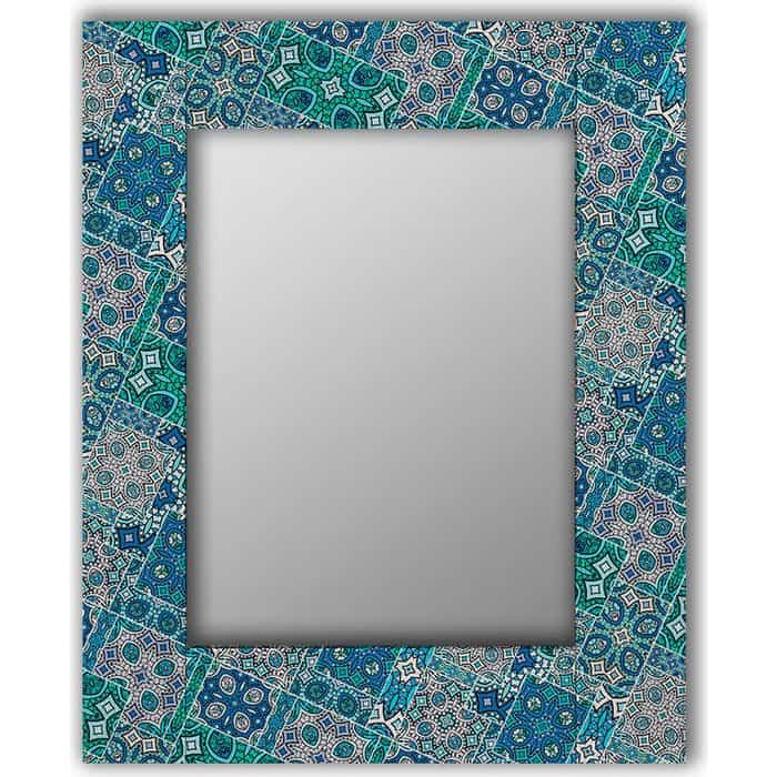 Настенное зеркало Дом Корлеоне Альби 60x60 см