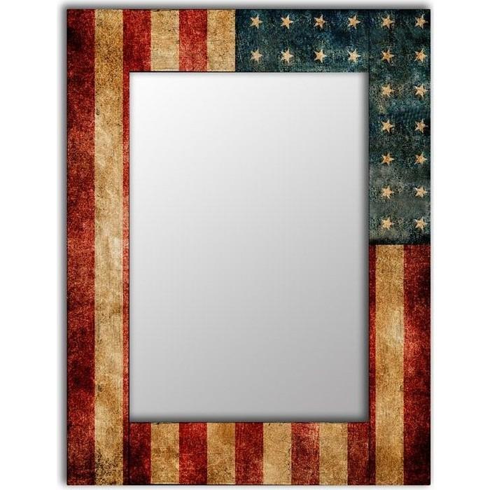 Настенное зеркало Дом Корлеоне Америка 80x80 см