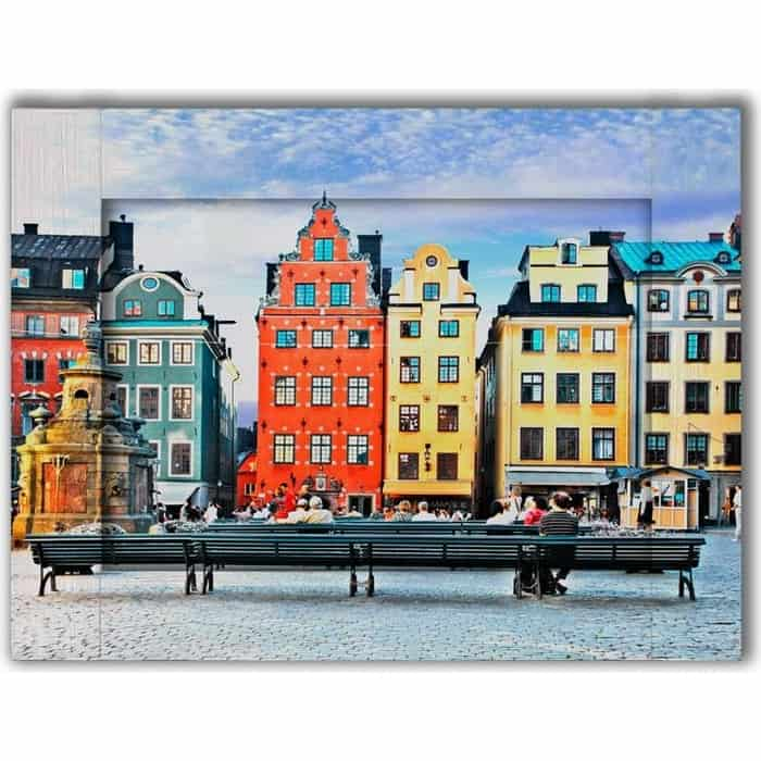 Картина с арт рамой Дом Корлеоне Амстердам 60x80 см