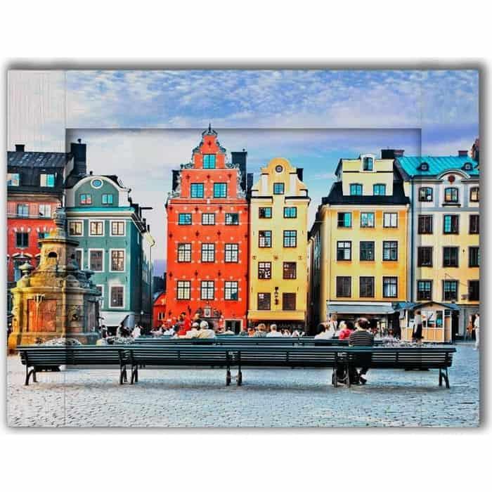 Картина с арт рамой Дом Корлеоне Амстердам 70x90 см