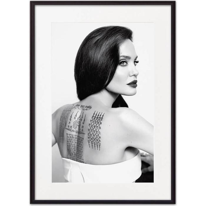 Постер в рамке Дом Корлеоне Анджелина Джоли 50x70 см