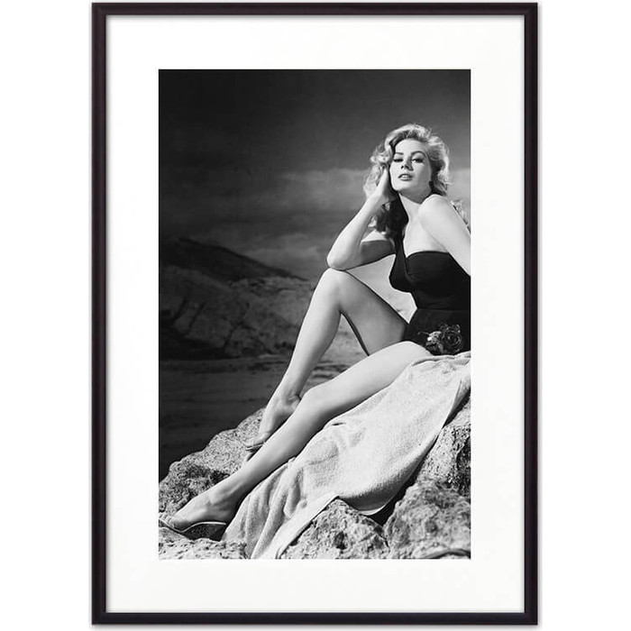 Постер в рамке Дом Корлеоне Анита Экберг 30x40 см