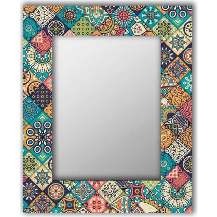 Настенное зеркало Дом Корлеоне Арабская плитка 60x60 см
