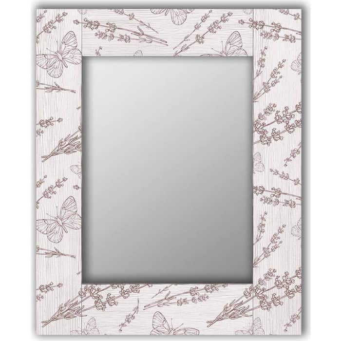 Настенное зеркало Дом Корлеоне Бабочки 50x65 см