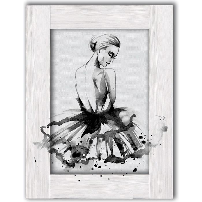 Картина с арт рамой Дом Корлеоне Балерина 70x90 см