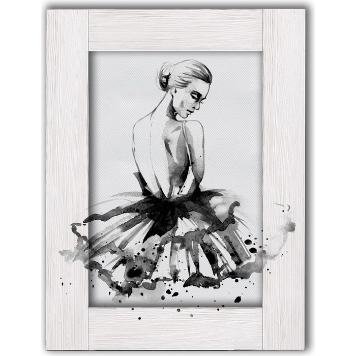 Картина с арт рамой Дом Корлеоне Балерина 80x100 см