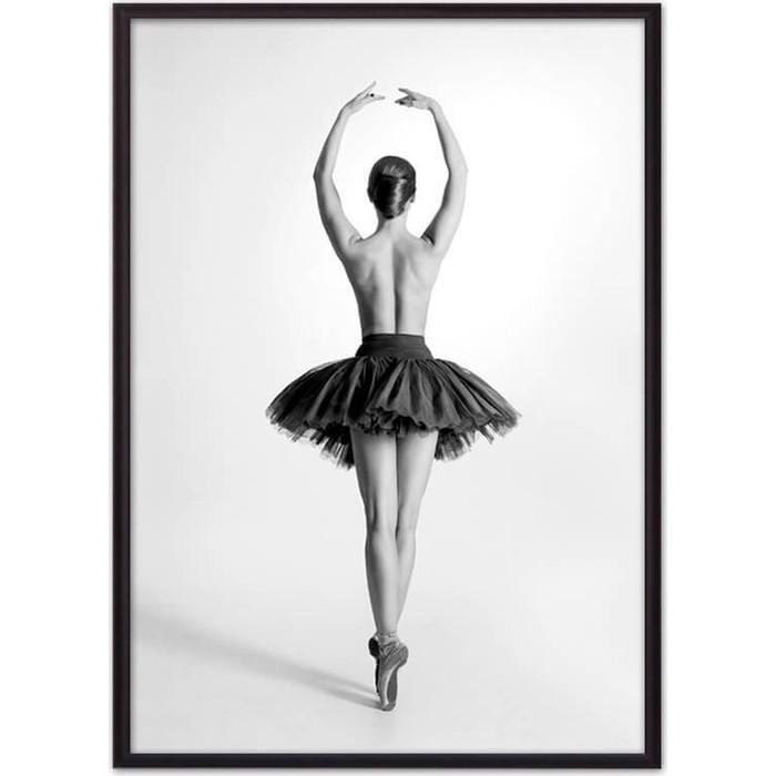 Постер в рамке Дом Корлеоне Балерина спиной 50x70 см