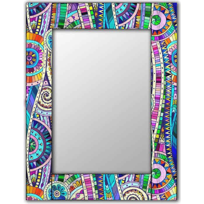 Настенное зеркало Дом Корлеоне Бельгард 80x80 см