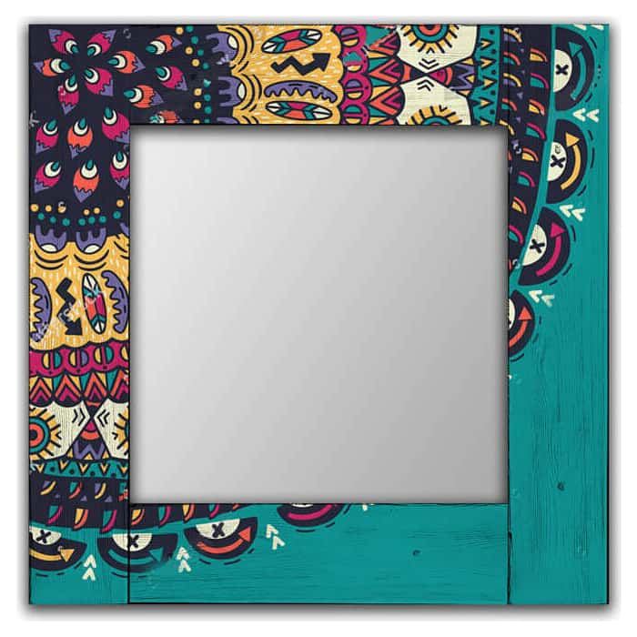 Настенное зеркало Дом Корлеоне Берне 80x80 см
