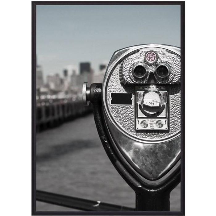 Постер в рамке Дом Корлеоне Бинокль New York 50x70 см