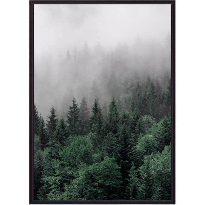 Постер в рамке Дом Корлеоне Бирюзовый лес 30x40 см