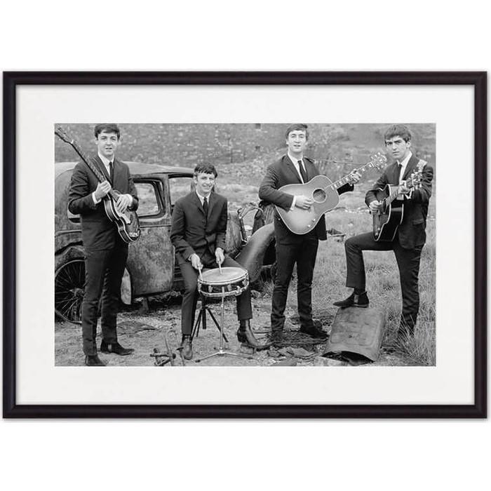 Постер в рамке Дом Корлеоне Битлз 50x70 см