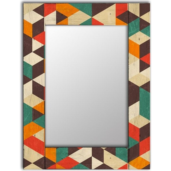 Настенное зеркало Дом Корлеоне Брандо 60x60 см
