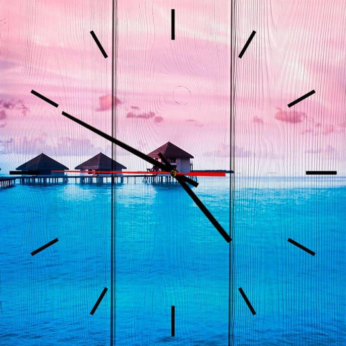 Настенные часы Дом Корлеоне Бунгало 40x40 см