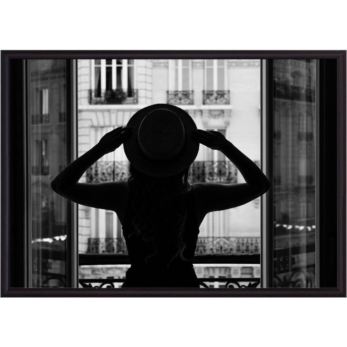 Постер в рамке Дом Корлеоне В Париже 50x70 см