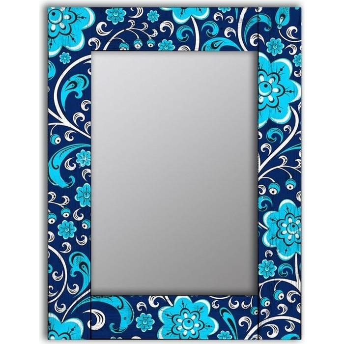 Фото - Настенное зеркало Дом Корлеоне Васильки 80x80 см настенное зеркало дом корлеоне синяя жар птица 75x170 см