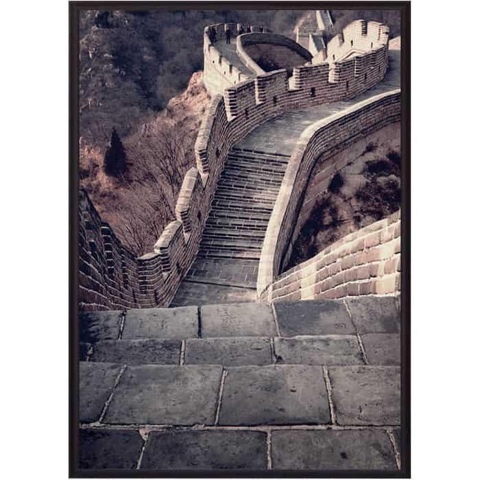 Постер в рамке Дом Корлеоне Великая стена 50x70 см